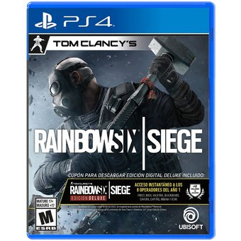 خرید بازی rainbow six siege deluxe edition نسخه ps4