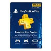 خرید اکانت پلاس Playstation Plus سه ماهه آمریک