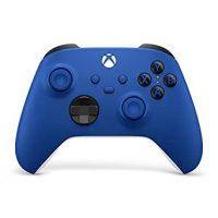 خرید دسته بازی Xbox Core Wireless Controller طرح shock blue برای ایکس باکس سری ایکس/اس و ایکس باکس وان