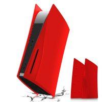 خرید فیس پلیت PS5 دیسک خور - قرمز