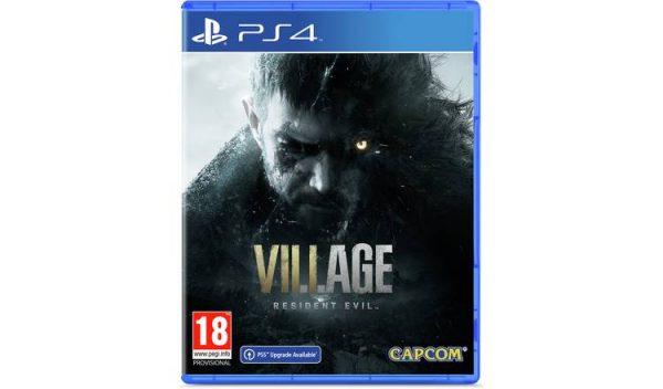 خرید بازی کارکرده resident evil village نسخه ps4