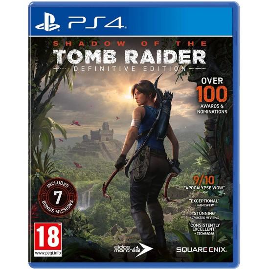 خریدبازی Shadow of the Tomb Raider نسخه Definitive برای ps4