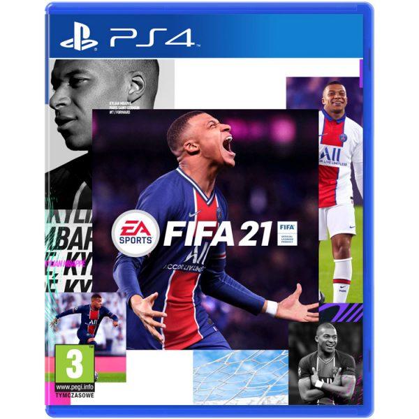 خرید بازی کارکرده FIFA 21 نسخه ps4