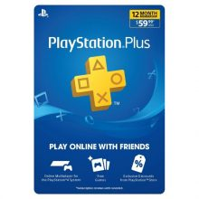 خرید گیفت کارت پلاس Playstation Plus یک ساله آمریکا