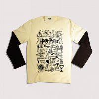 تی شرت آستین بلند جنس پنبه دو رو در سه سایز M,L,XL