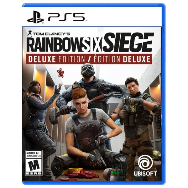 خریدبازی Tom Clancy's Rainbow Six Siege: Deluxe Edition نسخه ps5