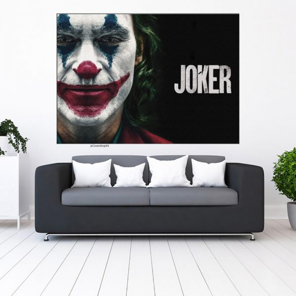 خرید تابلو طرح joker