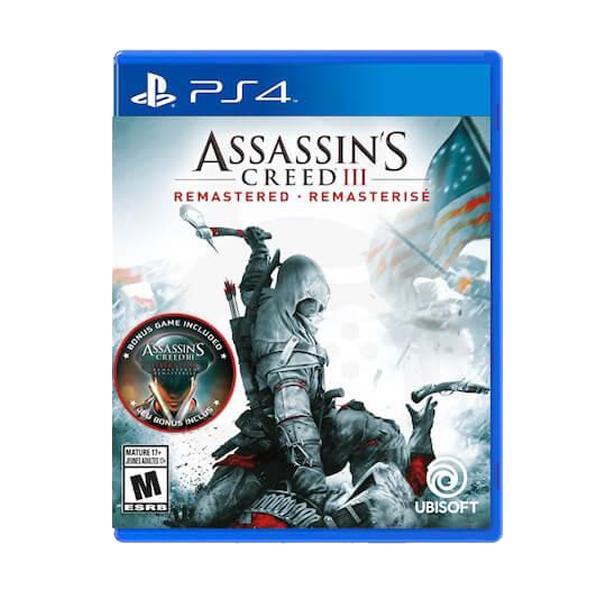 خرید بازی assassins creed III remasterd برای PS4