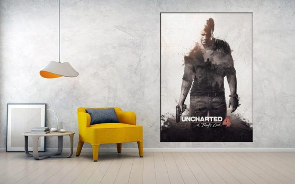 خریدتابلو طرح uncharted 4