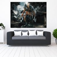 خریدتابلو طرح assassin's creed valhalla