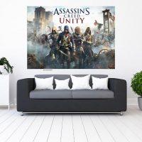 خریدتابلو طرح assassin's creed unity