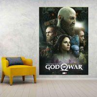 خریدتابلو طرح god of war 4