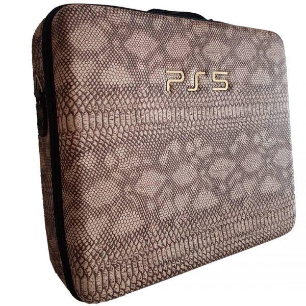 خرید کیف PlayStation 5 - طرح چرم ماری