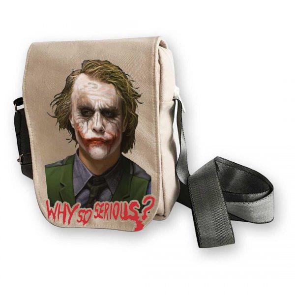 خرید کیف دوشی طرح joker