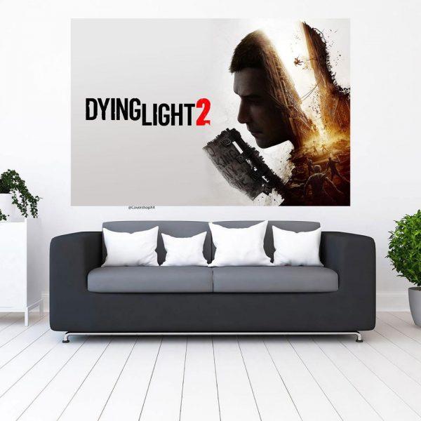 خرید تابلو طرح dying light 2