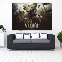 خرید تابلو طرح resident evil village
