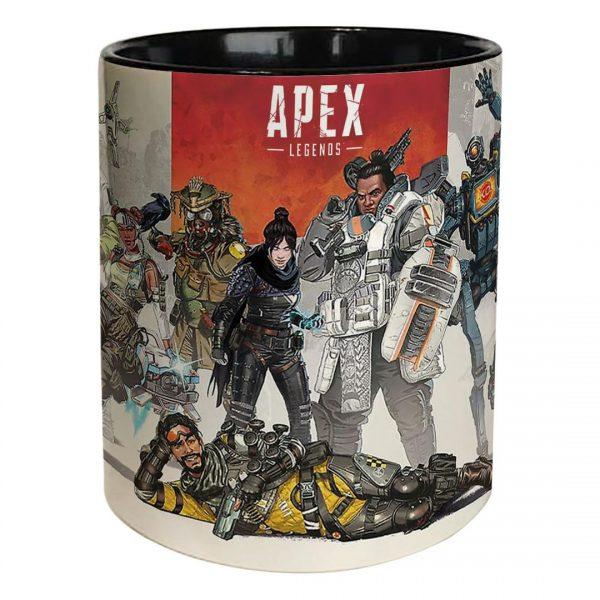 خرید ماگ تو مشکی طرح apex legends