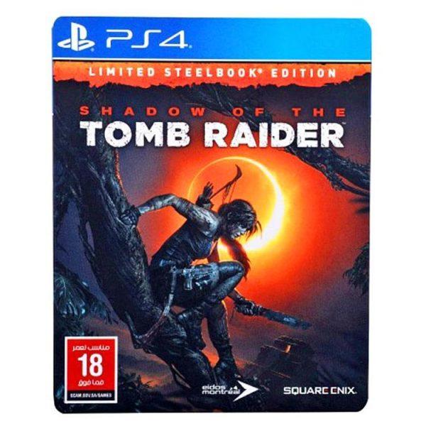 خرید بازی Shadow of the Tomb Raider Steelbook برای ps4