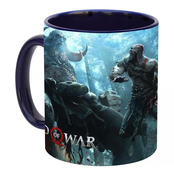 خرید ماگ طرح god of war