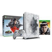 خرید کنسول بازی Xbox One X 1 TB سفید باندل Gears 5 Limited Edition