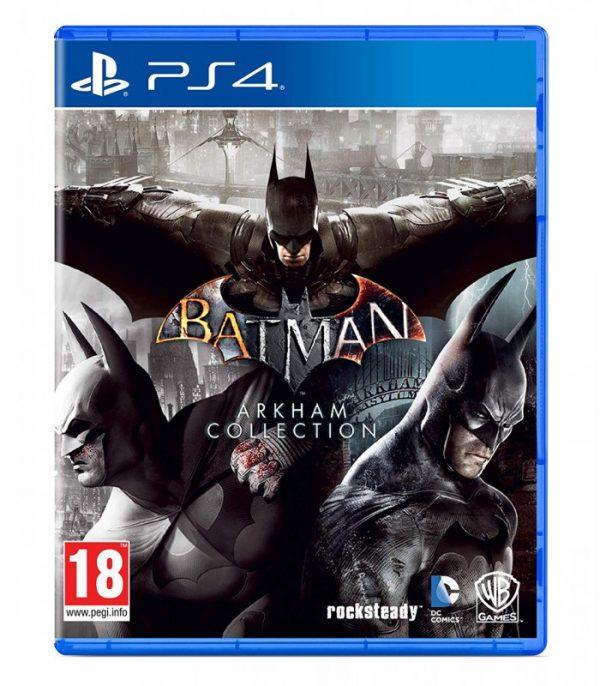 خرید بازی کارکرده Batman Arkham Collection نسخه ps4