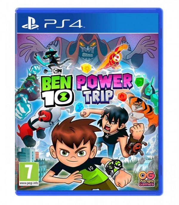 خرید بازی کارکرده Ben 10: Power Trip نسخه ps4