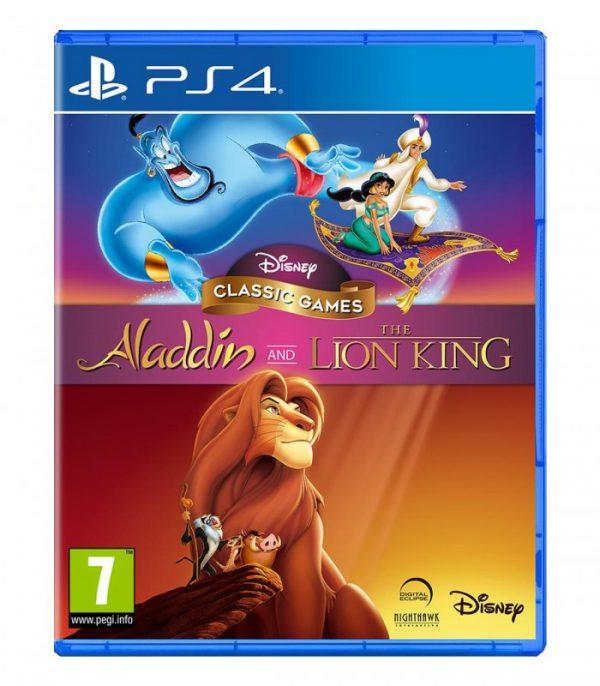 خرید بازی کارکرده Disney Classic Games: Aladdin And The Lion King نسخه ps4