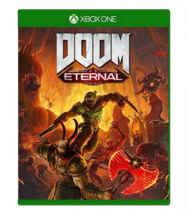 خرید بازی کارکرده Doom Eternal نسخه xbox one