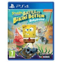 خریدبازی کارکرده SpongeBob Squarepants: Battle For Bikini Botto نسخه ps4