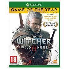 خرید بازی کارکرده witcher game of the year نسخه xbox one