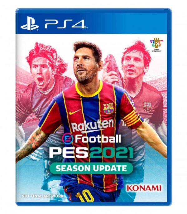 خرید بازی EFootball PES 2021 نسخه ps4