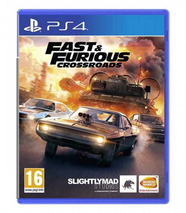 خریدبازی Fast & Furious: Crossroads نسخه ps4