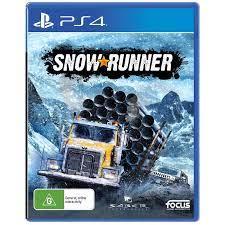 بازی Snow Runner نسخه ps4