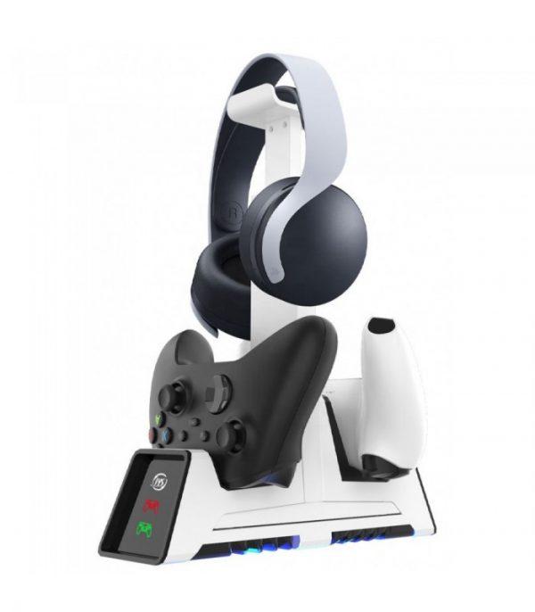 خرید شارژر مگنتی دسته و استند هدست - Magnetic Charger Station With Headset Stand