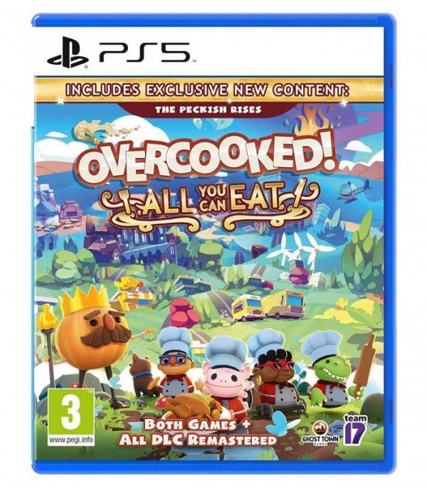 خرید بازی Overcooked All You Can Eat نسخه ps5