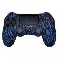 خریدروکش کنترلر Dualshock 4 Cover - Blue And Black