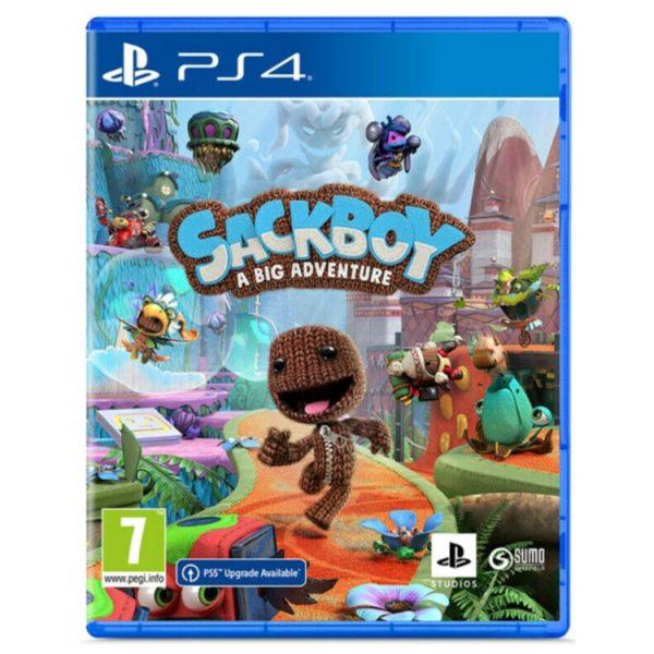 خرید بازی کارکرده Sackboy: A Big Adventure نسخه ps4