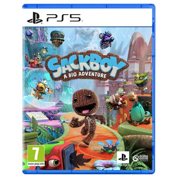 خرید بازی Sackboy: A Big Adventure نسخه PS5