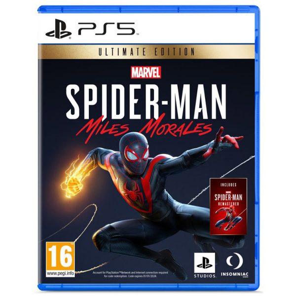 خرید بازی Spider-Man: Miles Morales Ultimate Edition نسخه ps5