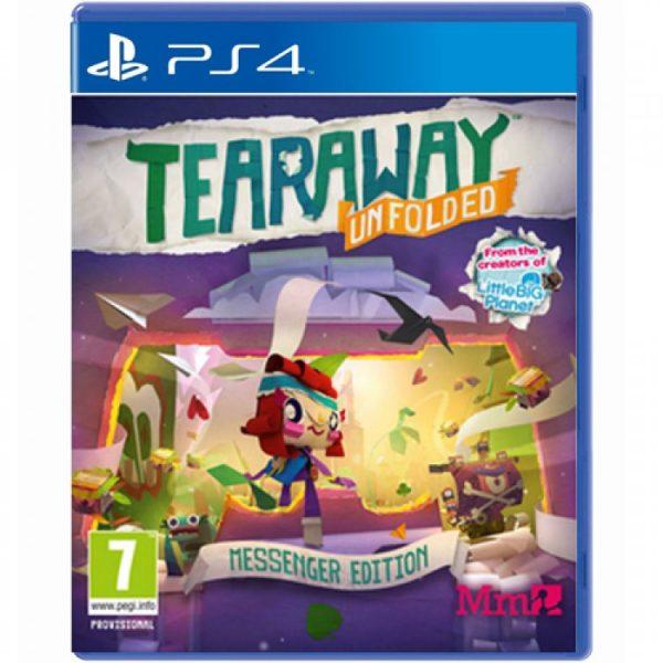 خرید بازی Tearaway Unfolded نسخه ps4