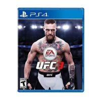 خرید بازی کارکرده UFC 3 نسخه ps4
