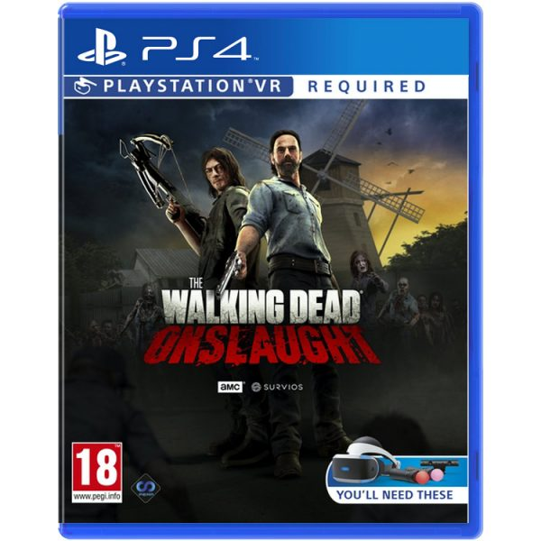 خرید بازی The Walking Dead: Onslaught برای PSVR