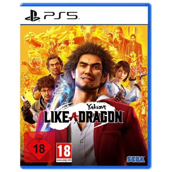 بازی Yakuza: Like a Dragon نسخه ps5